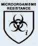 EN 374-2  Resistencia a la penetración de microorganismos