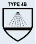 Tipo 4: EN14605 Aerosoles de alta presión